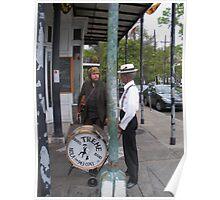 Street Musicians NOLA Poster