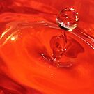 Orange Droplet by Amber Williams