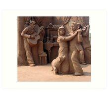 Sandland (3) Art Print