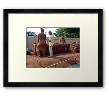 Sandland (4) Framed Print