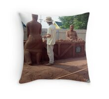 Sandland (4) Throw Pillow