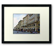 Streetscape I Framed Print