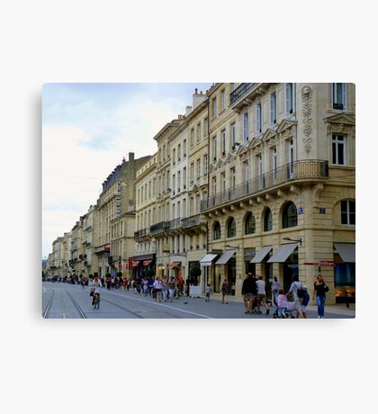 Streetscape I Canvas Print