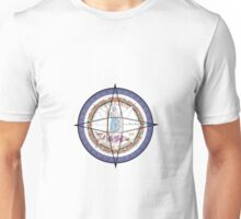 Virginia Compass Unisex T-Shirt