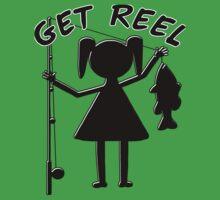GET REEL GIRL Kids Tee