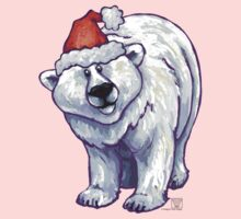 Polar Bear Christmas Kids Tee