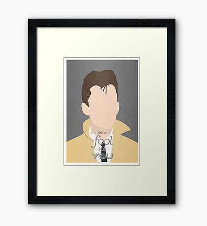 Arctic Monkeys Minimalist Alex Turner Framed Print