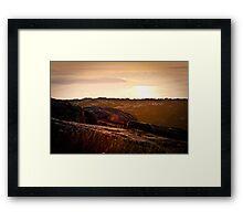 Sunrise on Cadillac Mountain Framed Print