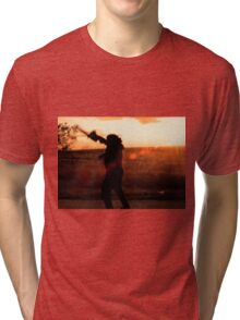 Texas Chainsaw Massacre - Swing 2 Tri-blend T-Shirt