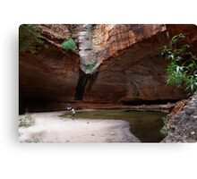 Cathedral Gorge second shot Canvas Print