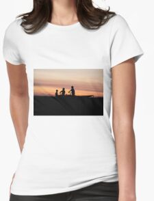 Cyclist Buddies Womens Fitted T-Shirt