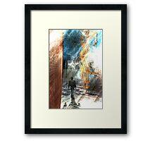 The traveler series: #6 Framed Print