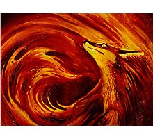 Fire's Embrace Photographic Print