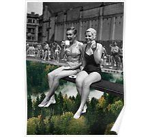 Air Pool Poster