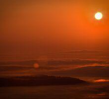 Mountaintop Sunrise by Halie Hovenga