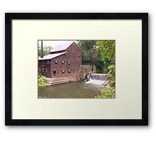Pine Creek Grist Mill at Wildcat Den Framed Print