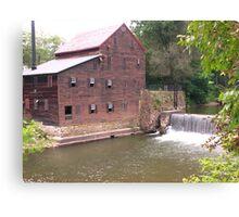 Pine Creek Grist Mill at Wildcat Den Canvas Print