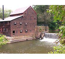 Pine Creek Grist Mill at Wildcat Den Photographic Print