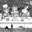 Mad Hatters Tea Party by Anita Inverarity