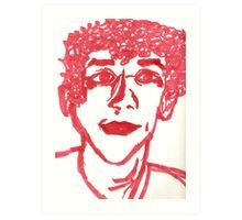 Jesse Eisenberg Art Print