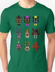 5 Nightmarish Nights at Freddy's Unisex T-Shirt