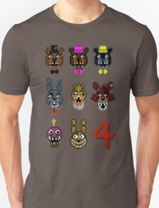 5 Nightmarish Nights at Freddy's T-Shirt