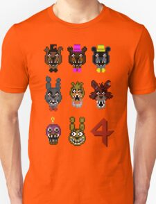 5 Nightmarish Nights at Freddy's Unisex T-Shirt
