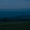 Sussex view, spring around sunset, cloudy, soft, blue by David Brown