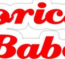 Boricua Babe Sticker