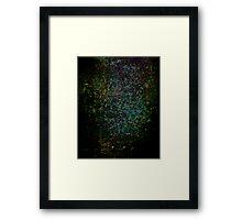 Undersea Dark and Light Framed Print