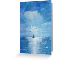 Lets sail away... Greeting Card