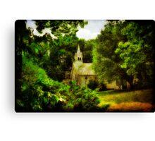 The Little Church On The Corner  - Maryland, USA Canvas Print