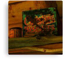 christie's biscuits Canvas Print