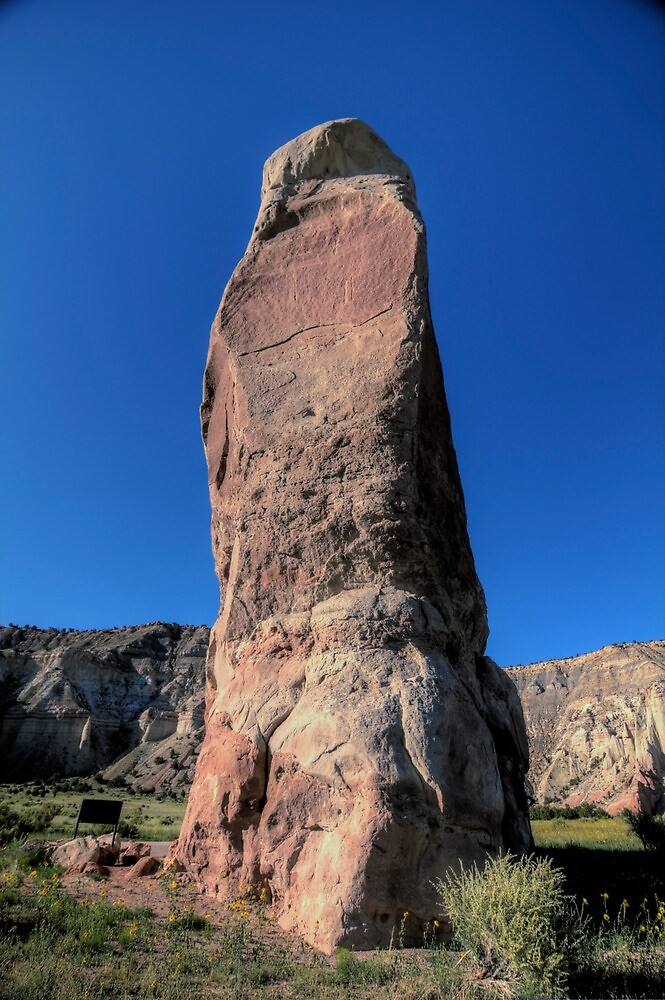 Chimney Rock - Kodachrome Basin by Terence Russell