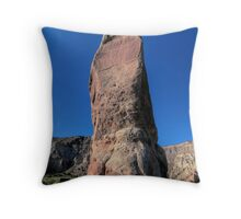Chimney Rock - Kodachrome Basin Throw Pillow