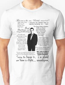 Giles in his own words - black T-Shirt