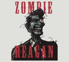 Zombie Reagan in Color by Sarjex