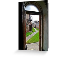 Final Walk To The Gallows! Greeting Card