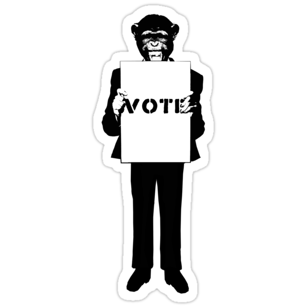 Monkey See, Monkey Do - Vote For Me! by AlexNoir