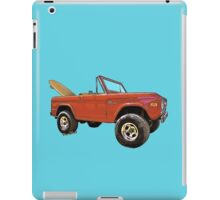 Surf Bronco Tee and Stuff from VivaChas! iPad Case/Skin