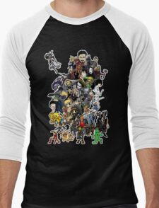 Doodle Men's Baseball ¾ T-Shirt