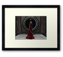 Lady of Fate Framed Print