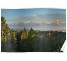 Grand Teton Morning Poster