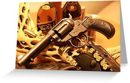 Antique Colt Lightning revolver photography by Vitaliy Gonikman