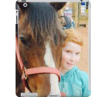 Holly and Tommy Girl iPad Case/Skin