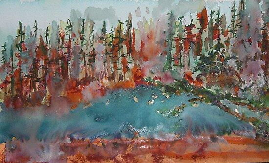 Summer's Pond by eoconnor