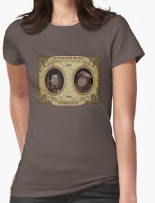 Almost Heroes - Edwards and Hunt Expedition Womens Fitted T-Shirt