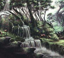 Beneath My Feet Living Earth Started To Breathe by Shinondraws