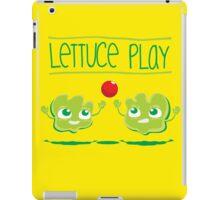 Lettuce Play iPad Case/Skin