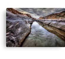 Gloom Channel Canvas Print